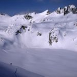 Touring up Decker / Blackcomb Backcountry