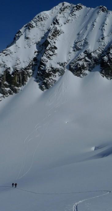Mount Pattison, Whistler Backcountry skiing