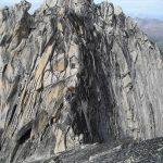 Summit ridge of Bugaboo Spire