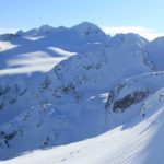 Blackcomb Backcountry Couloir Skiing