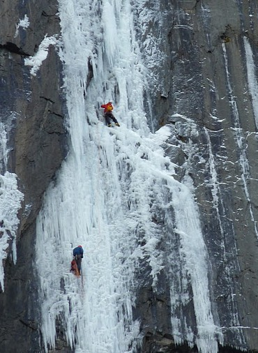 the replicant ice climb