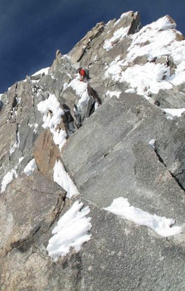Kuffner Arete, Mount Maudit