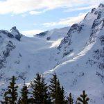 Mount Matier and Mount Howard
