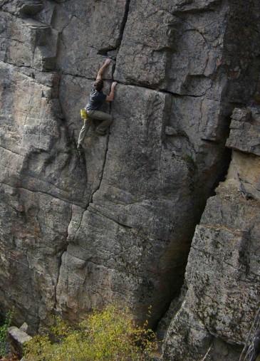 Skaha rock climbing Penticton BC