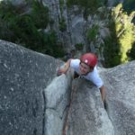 squamish multi-pitch climbing - squamish buttress