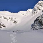 Heli Assisted Ski Touring At CMH Adamants