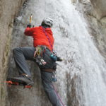 Ice Climbing in the Rainforest