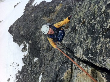 Climbing Blackcomb Buttress in Whistler