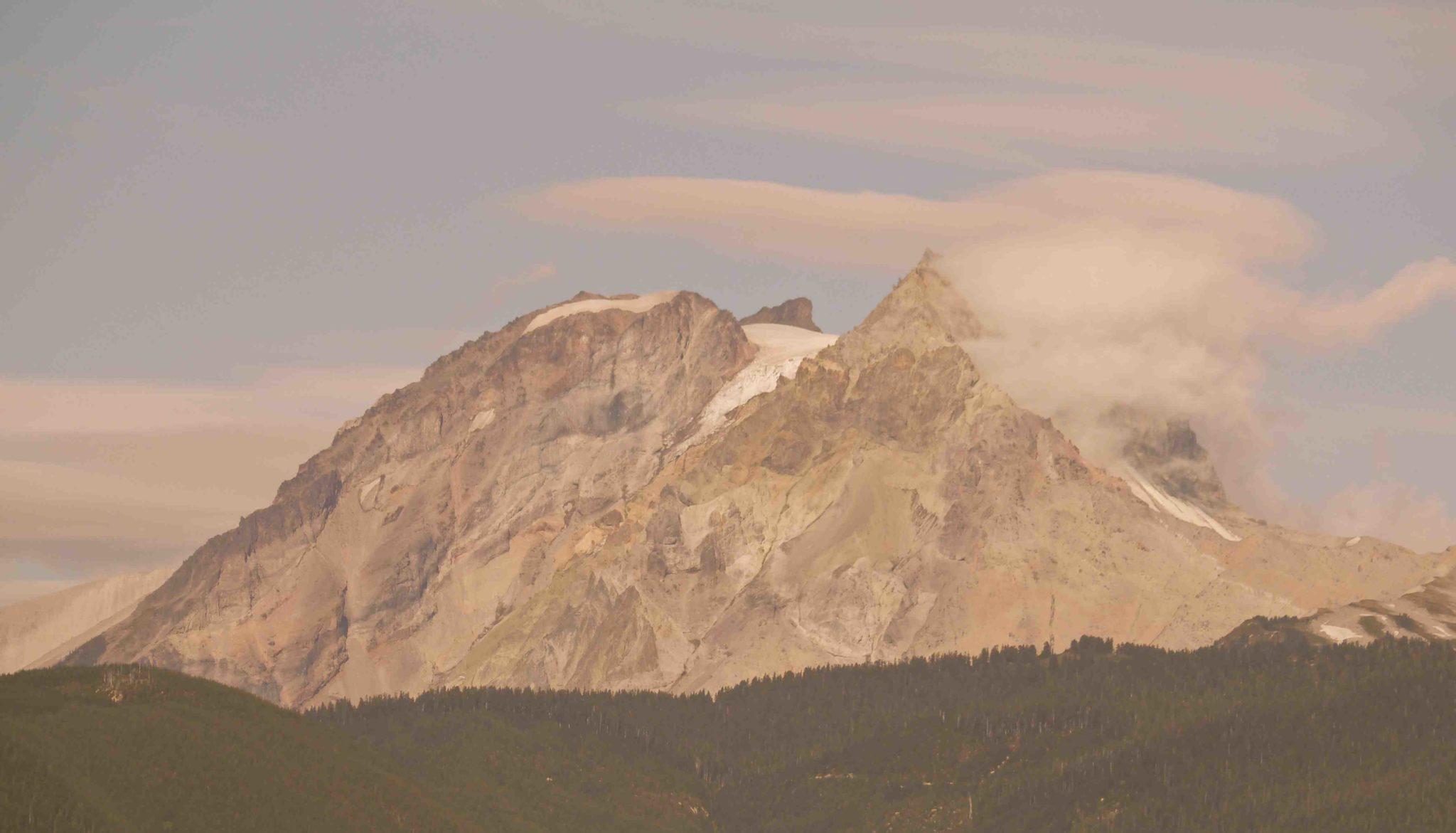 Mt Garibaldi from Chief in Summer