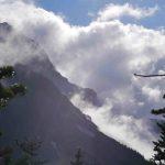 West face on Mt Garibaldi