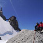 Aiguille Midi on Mont Blanc