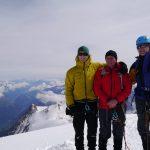 Summit of Mont Blanc