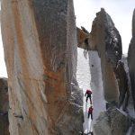 Ross Berg guiding Cosmiques Arete