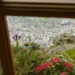 Great views from the Refuge du plan de l'aiguille du midi