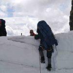 Big packs on Mt. Robson