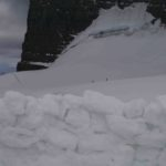 Camp on The Dome of Mt. Robson Kain Face