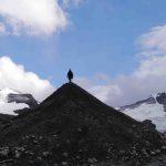 Ice Cone on Mt. Robson Glacier