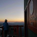 Sunset at Haberl Hut Tantalus Range West Coast BC Canada