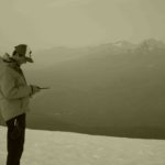 CSMM Technical Director, Crosby Johnston with Whistler area peaks in background