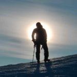 Sunrise climbing on the NE Face of Garibaldi