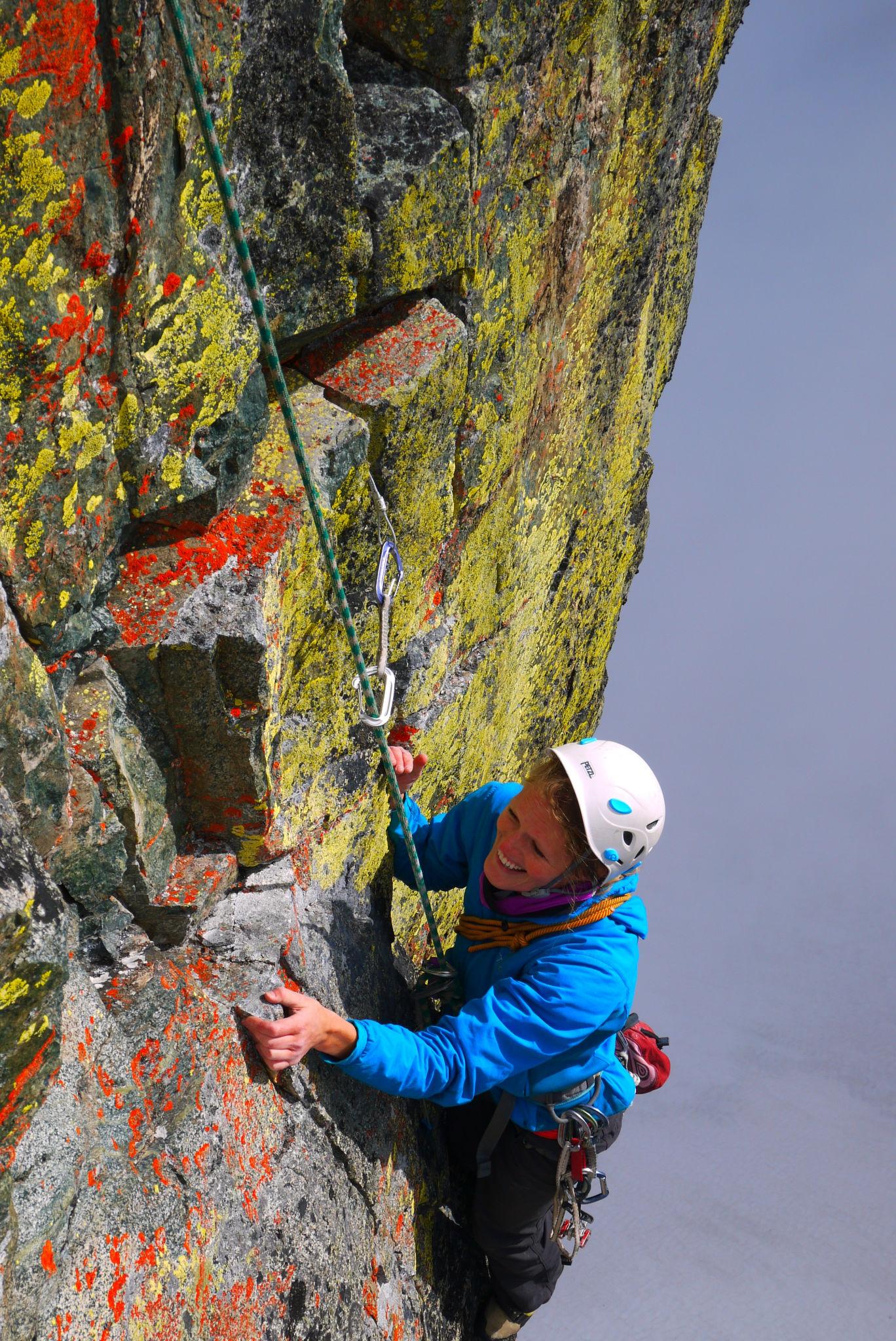 Climbing in Whistler