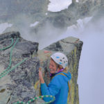 Topping out. Climbing in Whistler Blackcomb