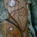 The totem pole Angel's Crest Squamish Rock Climbing