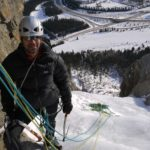 Sunny ice climbing!!  doesnt get better