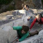 5.10c Squamish Buttress - Squamish Rock Climbing