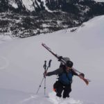 Summiting Journeyman Peak Callaghan Valley - Altus Mountain Guides