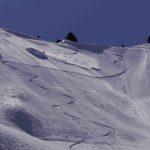 Skiing Mt. Serratus
