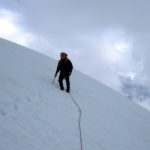 Decending Serratus Glacier Tantalus Range BC Canada