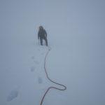 The white out on Serratus Glacier Tantauls Range BC Canada