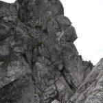 Widow Maker Arete - the headwall
