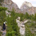 Approaching Castle Mountain