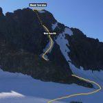 Mount serratus, West Face