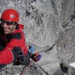 Climbing McTech Arret Bugaboos