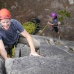 TRAD COURSE ROCK CLIMBING SQUAMISH BC CANADA FIRST TIME