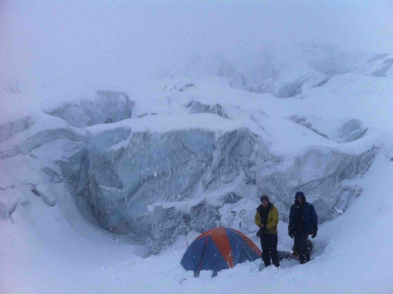 Crevasse Camping Mt Garibaldi Squamish