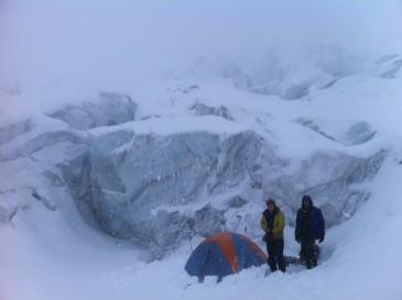 Mt Garbaldi Crevasse camping
