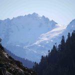 Mt Serratus from Mt Mount Tricouni