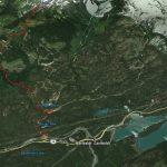 Path to  Tricouni Lake