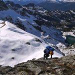 Nearing to top of Mount Tricouni - Whistler Alpine
