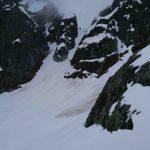 Gun Sight Gap bettween Sky Pilot and Ledge Mt. Squamish
