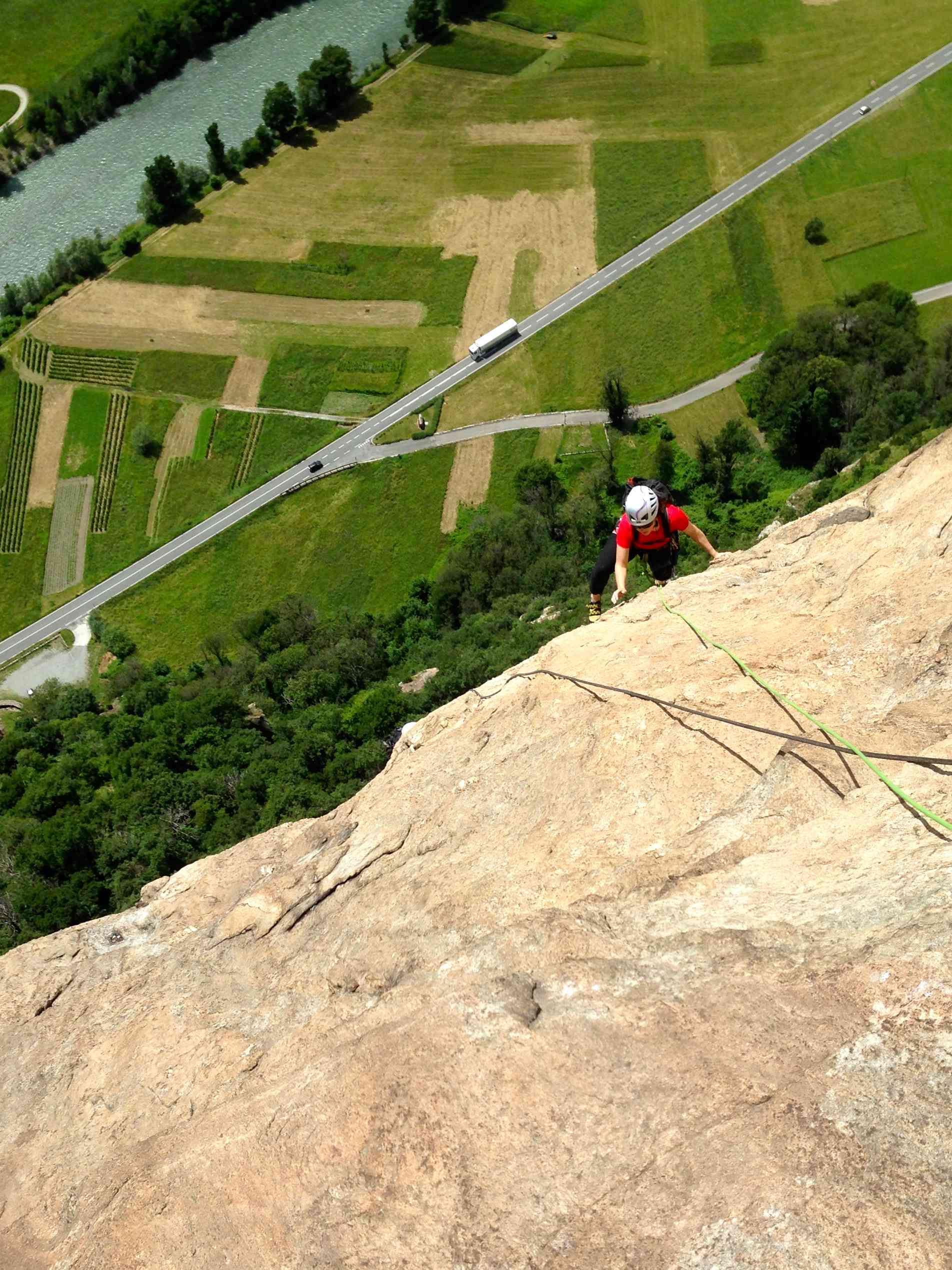 Rock Climbing Italy - Aosta Valley - Diretta Al Banano 4