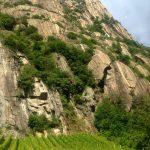 Rock Climbing Italy - Aosta Valley - Diretta al banano 2