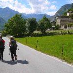 Rock Climbing Italy - Aosta Valley - Walking throu Arnad