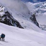 Cosmiques couloir - Chamonix ski touring