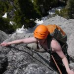 Climbing south face of Mt Habrich My 31 2014