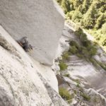 Solo aid climbing on U-Wall Squamish BC , Altus Mountain Guides copy